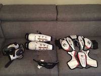 Exceptional Hockey Equipment! Age: 9-13