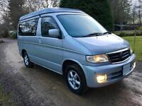 FACELIFT MODEL MAZDA BONGO 4 BERTH CAMPER CAMPERVAN REAR CONVERSION 5 SEATS