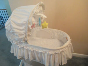 Kolkraft Light Vibes Rocking Bassinet