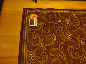 Red carpet area rug decorative accent Like New London Ontario image 4
