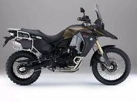BMW F800GS aventure 2015 accidenté