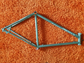 Titanium 29er hatdtail frame + Hope clamp L/XL