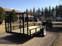 New trailer side by side /Quad 7x14