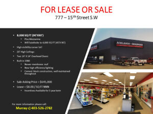 Building for Lease - Light Industrial Area
