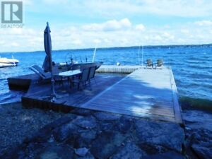 Waterfront:  St. Lawrence River Cottage Rental with Hot Tub