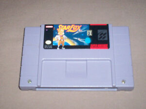 SUPER NINTENDO GAMES STAR FOX \ MYSTICAL NINJA \ POWER PIGS