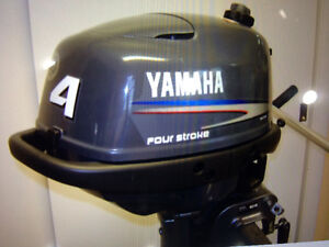 2009 YAMAHA 4HP 4STROKE LONG SHAFT WITH LESS THAN 10 HOURS
