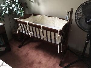 Beautiful Wooden Cradle
