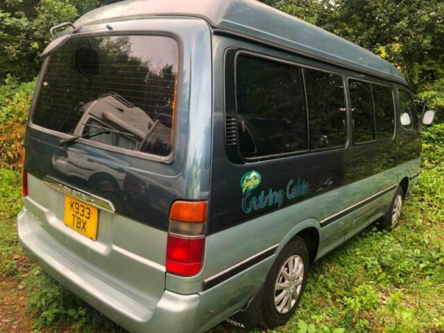 Toyota HIACE 4 BERTH POP TOP CRUISING CABIN CONVERTED BY TOYOTA AUTO 2 8  DIESEL | in Gloucestershire | Gumtree