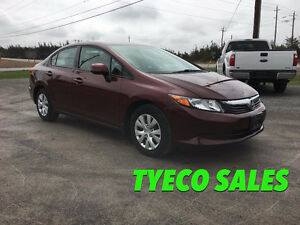 2012 Honda Civic AUTO --CERTIFIED--