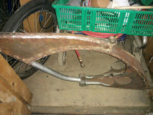 Custom Rapido Lowrider frame for trike kit