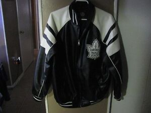 Toronto Maple Leafs Leather Winter Jacket