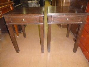 Tall Beside Table with Drawer