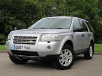 2007 Land Rover Freelander 2 2.2 TD4 XS SUV 5dr Diesel Manual (194 g/km,