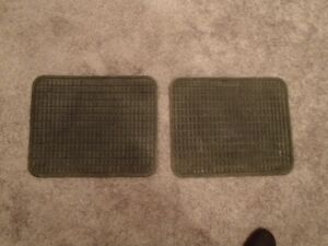 Rear Floor Mats Rubber