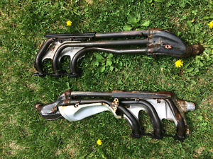 Honda Goldwing 1500  header pipes extension pipe muffler exhaust