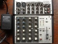 Phonic MM1002a 10 channel audio mixer