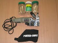 Porter-Cable Deluxe plate joiner model 557