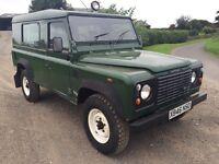Land Rover 110 td5 defender 12mths mot only 83050 miles