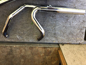 Streetglide factory pipes, new.