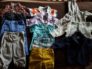 Size 12 months Boys clothing lot