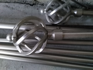 Metal Extendable Curtain Rods/ Blind