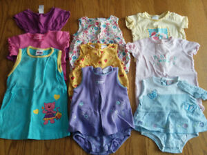 Infant Summer Clothes 6-12mo