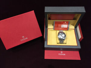 TUDOR ROLEX CHRONOGRAPH REF.20300 BOX PAPERS.
