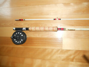 Canne moulinet a mouche Neuf, Truite, Fly rod and reel