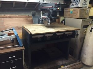 "Craftsman 10"" radial arm saw. Revelstoke British Columbia image 4"
