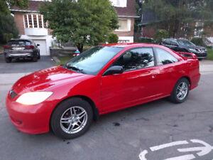 2004 Honda Civic LX Coupe (2 door)