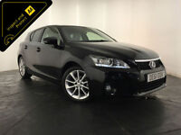 2011 61 LEXUS CT200H SE-L CVT HYBRID AUTO SERVICE HISTORY FINANCE PX WELCOME