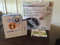 Revitive circulation booster + Ultraleve+ accessoires