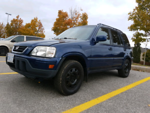 1998 Honda Crv 5 speed 0 rust MINT CONDITION