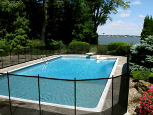 Safety removable pool fence Norfolk, Ontario