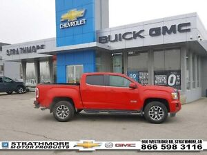2016 GMC Canyon 4x4 All Terrain pkg-Black boards-Remote strat-Ca
