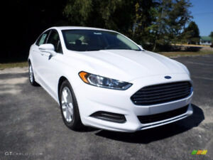 Takeover Lease For 4 Month Old 2017 Ford Fusion Sedan