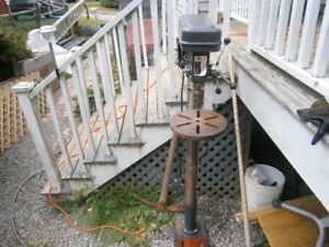 FLOOR MODEL INDUSTRIAL DRILL PRESS