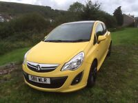Vauxhall corsa 2011 limited edition