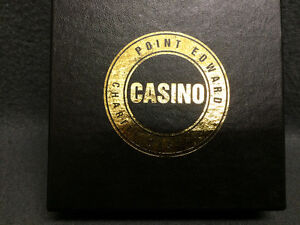 Collectible Antique Point Edward Charity Casino Coasters London Ontario image 1