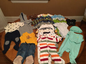 3-6months baby boy clothes