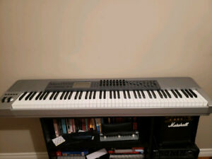 maudio 88 weighted key midi controller.