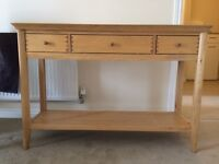 Hall Console Table £150