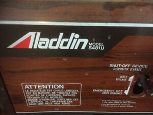 Aladdin Kerosene Heater Model S481U