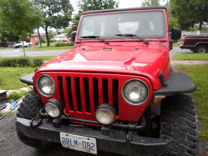 2003 Jeep TJ SUV, Crossover