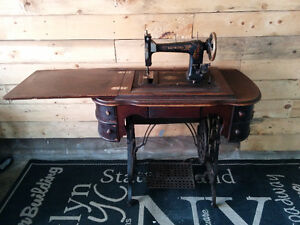 Antique Raymond Sewing Machine - Delivery
