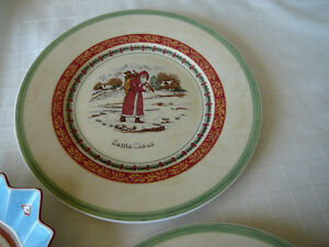 Villeroy & Boch Christmas Plates and Bowl Kitchener / Waterloo Kitchener Area image 2