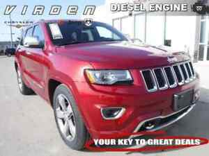 2014 Jeep Grand Cherokee 4x4 Overland **REARVIEW CAMERA!! TOUCHS
