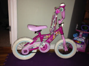 Pink girl bicycle for sale