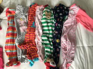 Lot vêtements bébé fille 0-6 mois + de 30 morceau